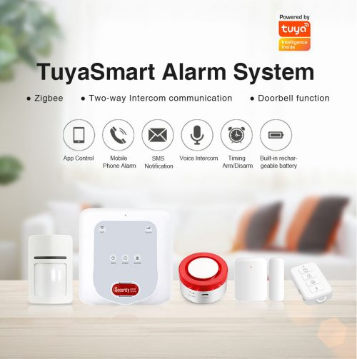 Enerna IoTech GSM WiFi Zigbee Smart Home Wireless Anti-theft Alarm System