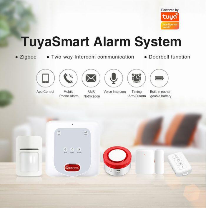 Enerna IoTech GSM WiFi Zigbee Smart Home Wireless Anti-theft Alarm System