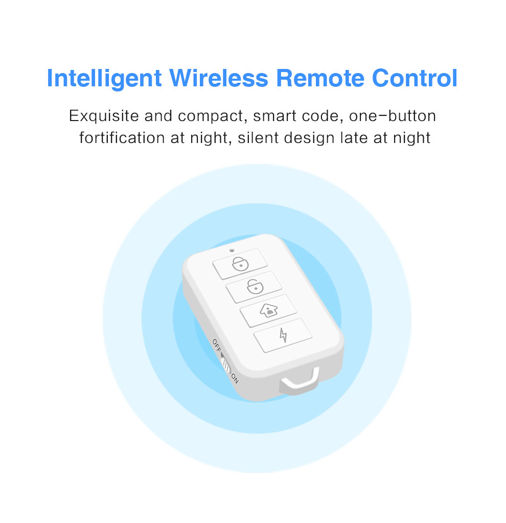 Enerna IoTech GSM WiFi Zigbee Smart Home Security Alarm