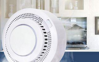 Enerna IoTech Smart Automatic 85DB Sound Alarm App Message Pushed Fire Smoke Detector