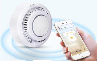 Enerna IoTech Smart Automation Mobile App Remote Fire Smoke Alarm Notification System