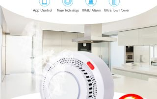 Enerna IoTech Smart Building Automation Remote Fire Alarm Monitoring Smoke Detector