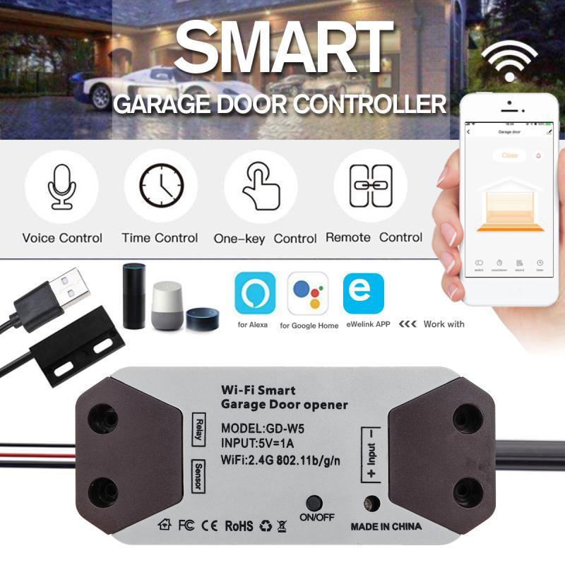Enerna IoTech WIFI Smart Garage Door Controller
