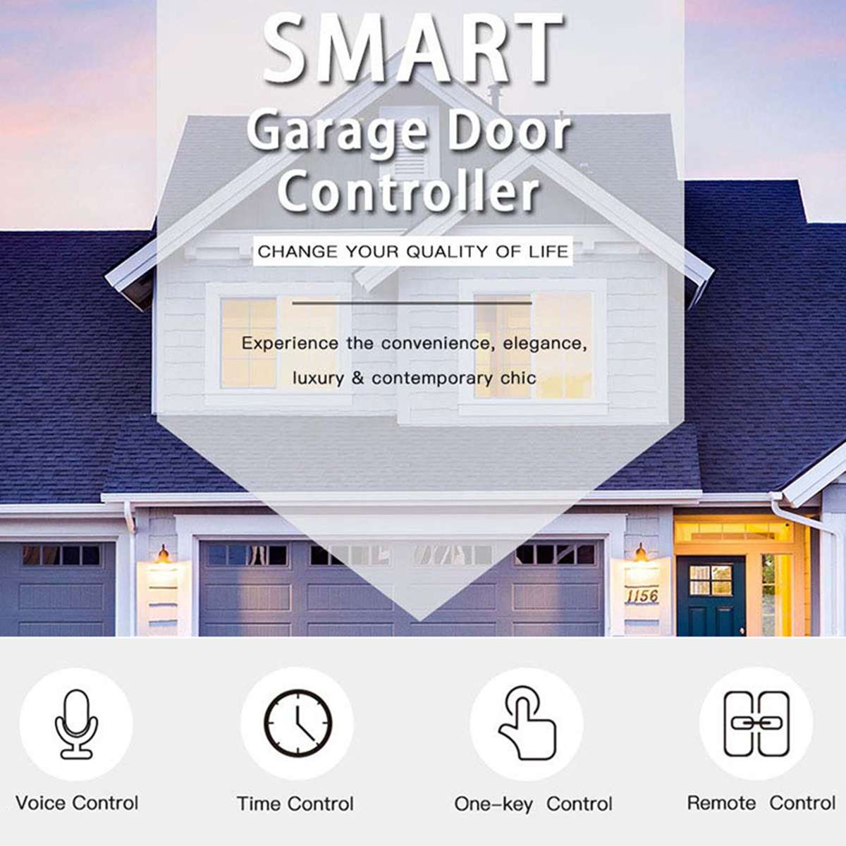 Enerna IoTech WIFI Smart Garage Door Controller Remote Switch