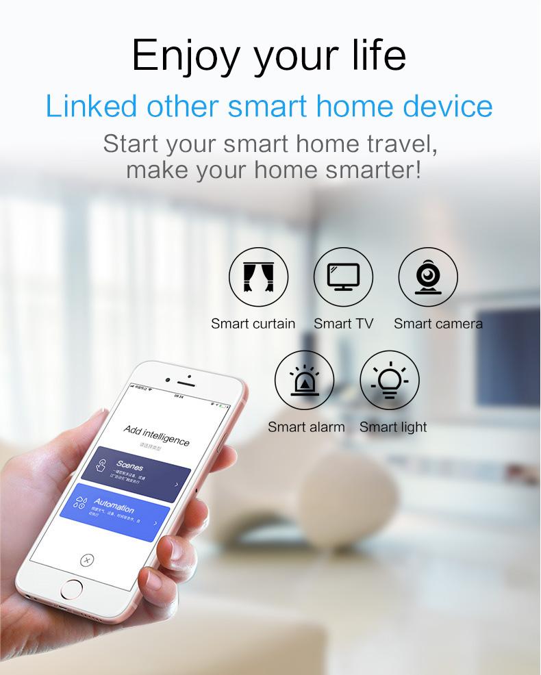 Enerna IoTech intelligent infrared detector PIR Alarm