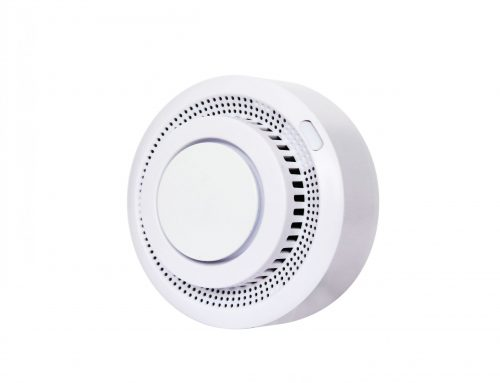 WiFi Wireless Smart Smoke Fire Alarm Sensor for building security HM200