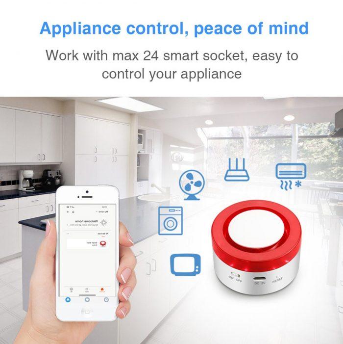 Enerna IoTech WiFi Smart Automation Home Appliance Control Alarm IoT Gateway