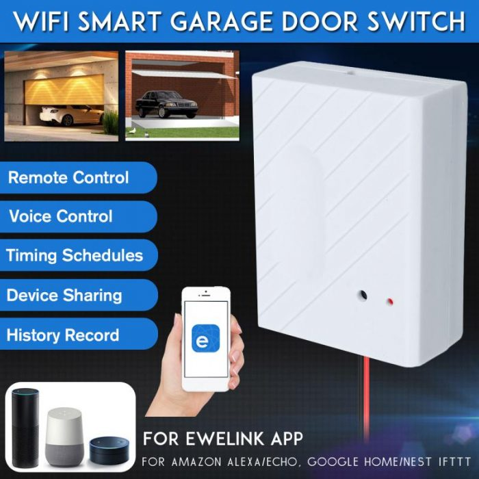 WIFI Smart Garage Door Gate Opener