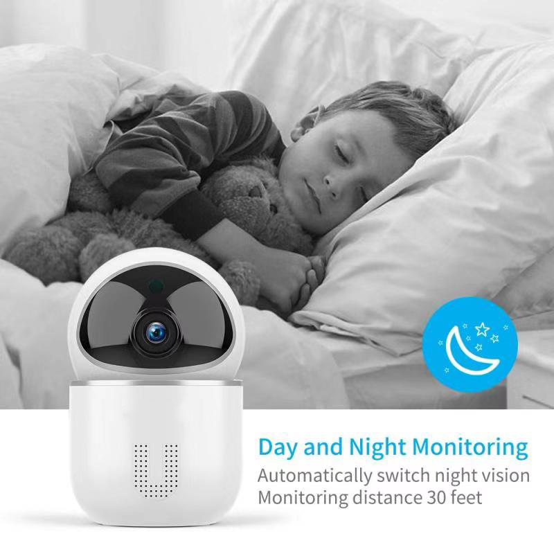 Enerna IoTech WiFi Smart Home Baby Kids Elderly Care Night Version IP Camera