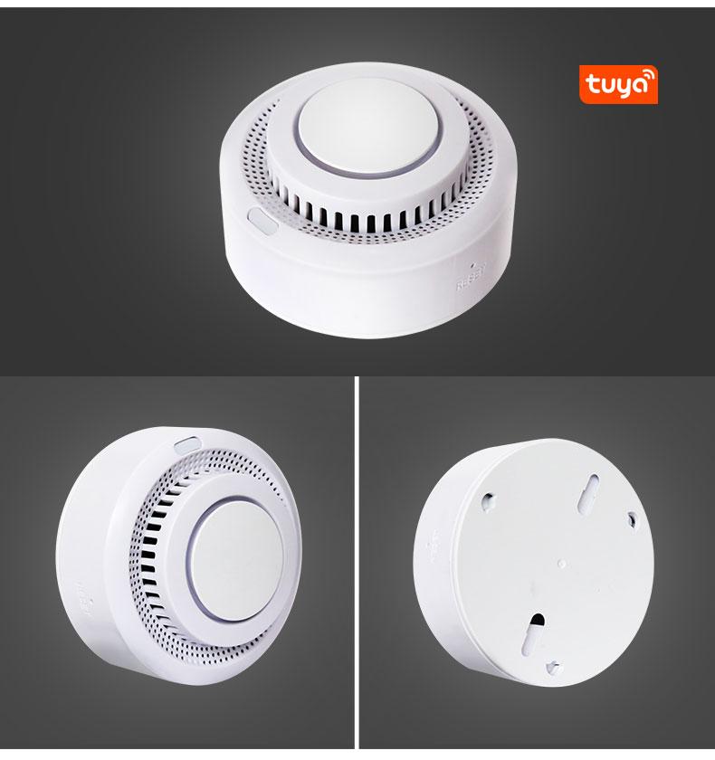 Enerna IoTech WiFi Smart Home Remote Fire Smoke Detector Alarm System
