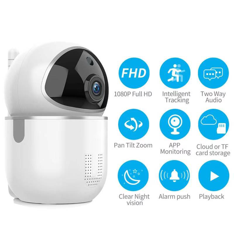 Enerna IoTech WiFi Smart Home Security Surveillance HD Camera