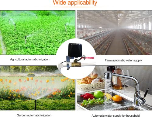 Smart Automatic App, Timing, Voice Control Water and Gas Valve Controller