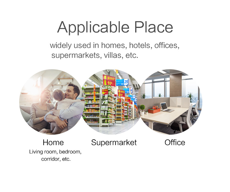 Enerna IoTech Wireless Home Hotel Office Supermarkets Villas Home Automation Alarm System