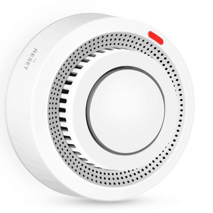 Enerna IoTech Wireless Tuya APP Smart Wifi Smoke Detector Alarm