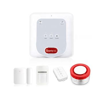 Enerna IoTech Tuya Zigbee GSM WiFi Wireless Home Intruder Alarm System