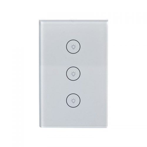 Enerna IoTech WiFi Smart Home Automation Touch Panel Light Switch