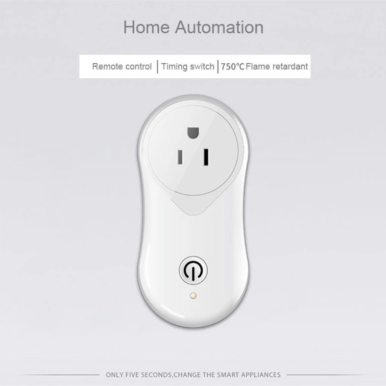 Enerna IoTech Wifi Smart Plug Mini Socket Outlet Works with Amazon Alexa Timing Function for Mobile Phone