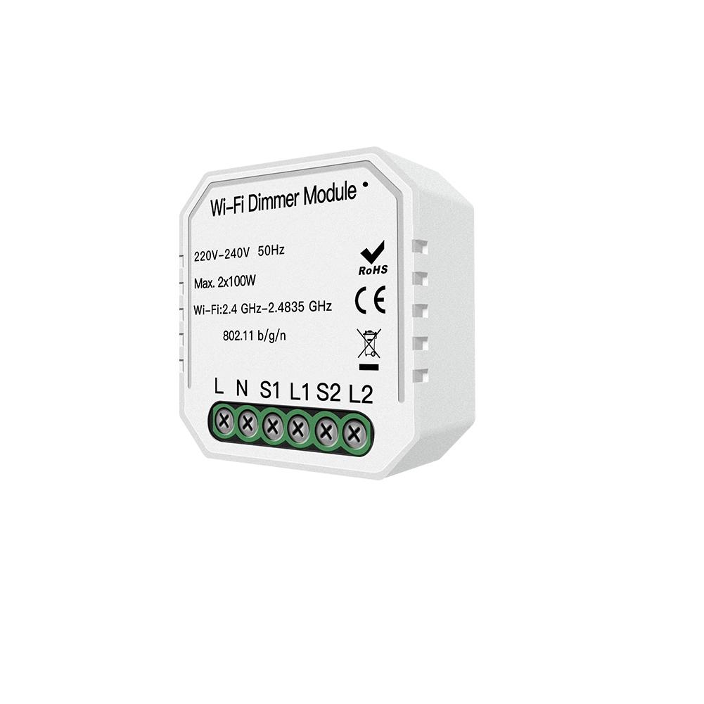 Enerna IoTech 2 Way Wifi Smart Light LED Dimmer Switch module