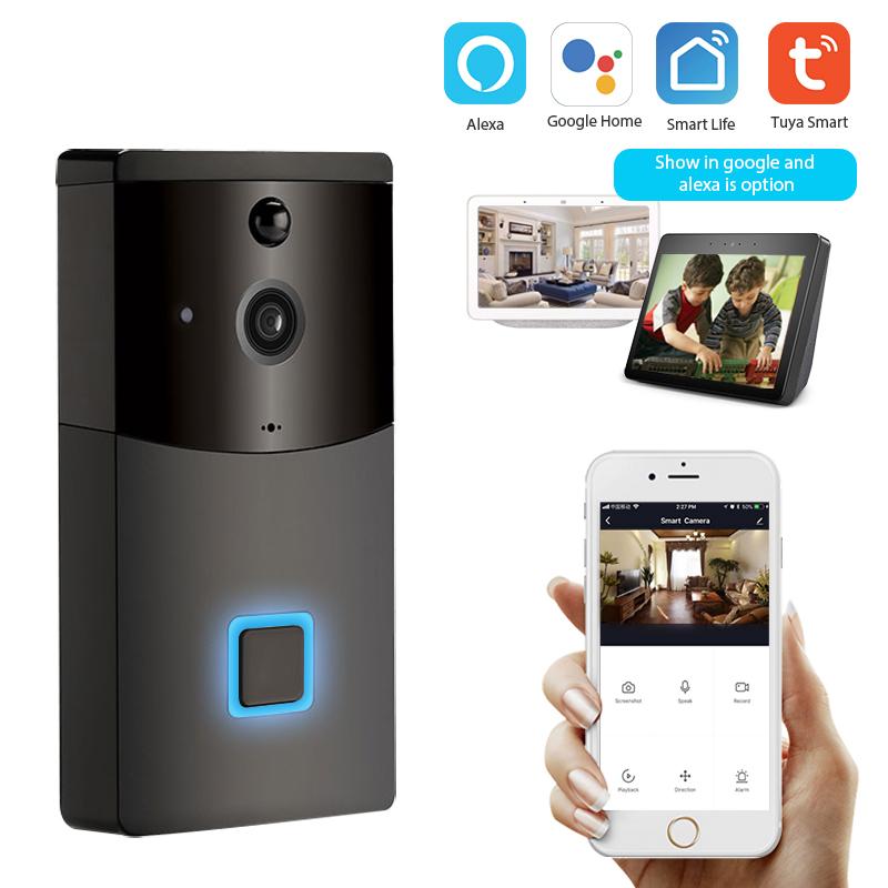 Enerna IoTech WiFi Wireless Smart Video Doorbell 1080P Camera Night Vision Pir Motion Sensor