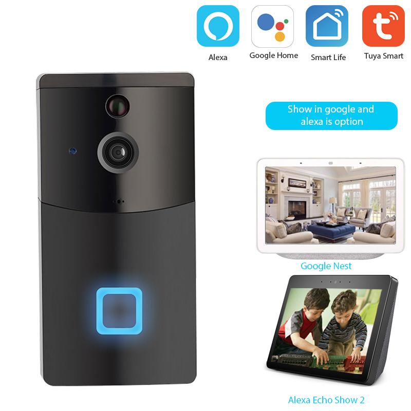 Enerna IoTech WiFi smart outdoor digital picture taking doorbell
