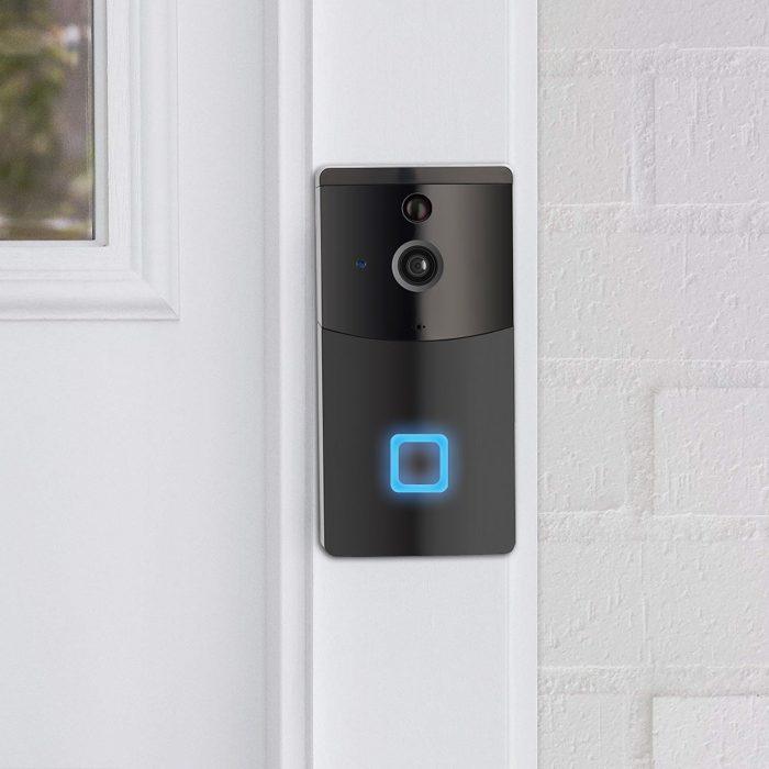 Enerna IoTech smartphone App control ip camera wifi wireless video doorbell