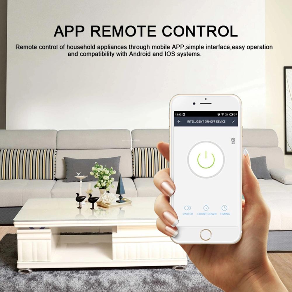 Enerna IoTech 4CH 4 Gang Mounting Wireless Control WIFI Smart Switch