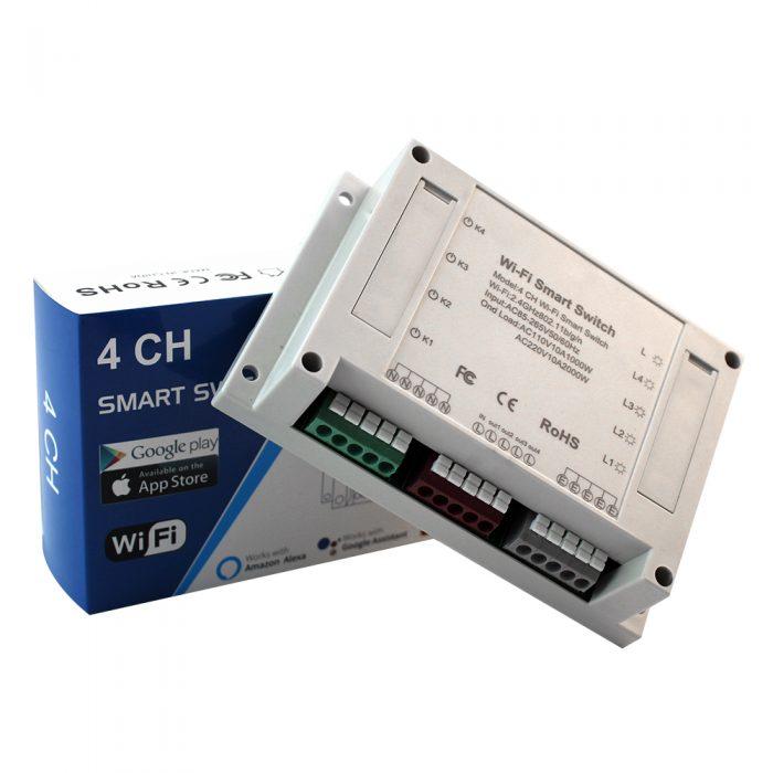 Enerna IoTech Remote Control Diy Wireless Smart Home Light Switch