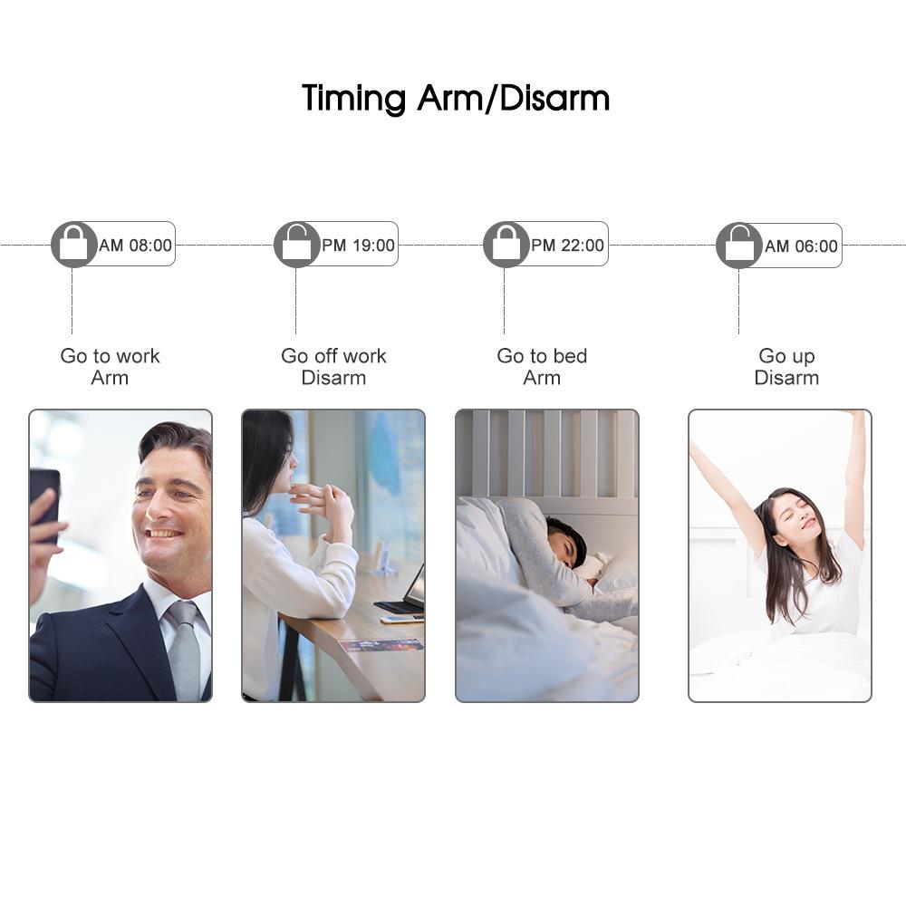 Enerna IoTech WiFi Gsm Smart Wireless Emergency SOS Elderly Guarder Alarm System