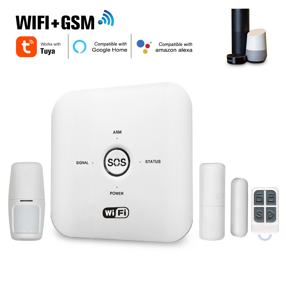 Enerna IoTech WiFi Gsm wireless iot smart home burglar security alarm system