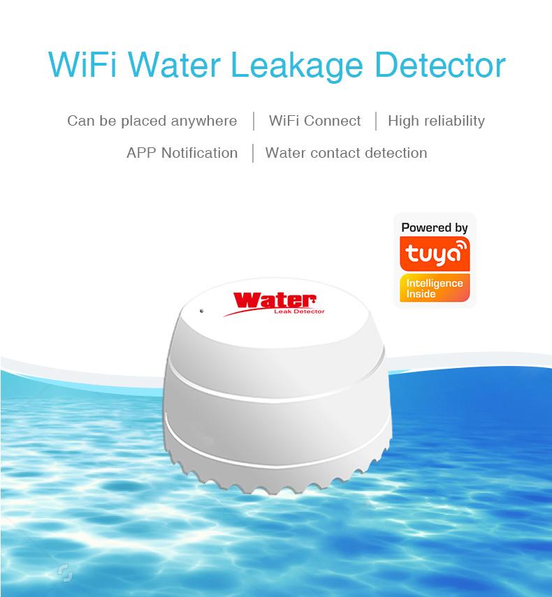Enerna IoTech WiFi Smart Water Leakage Alarm Detector