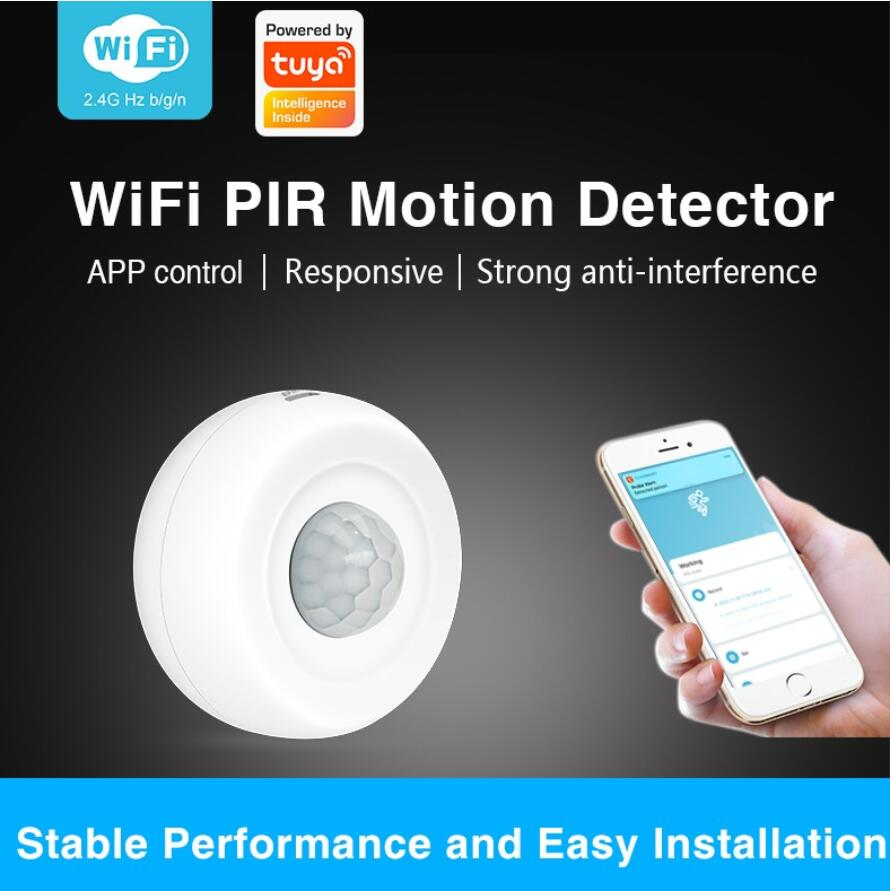 Enerna IoTech 360° Smart Automatic Ceiling Infrared PIR Alarm Sensor