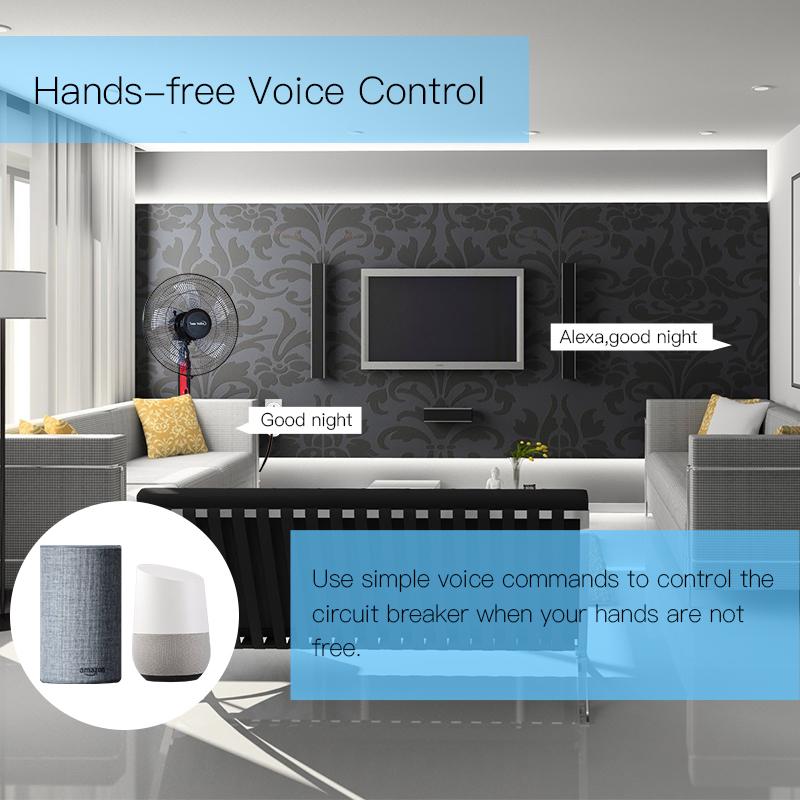 Enerna IoTech 3-Phase WiFi Smart Circuit Breaker Switch