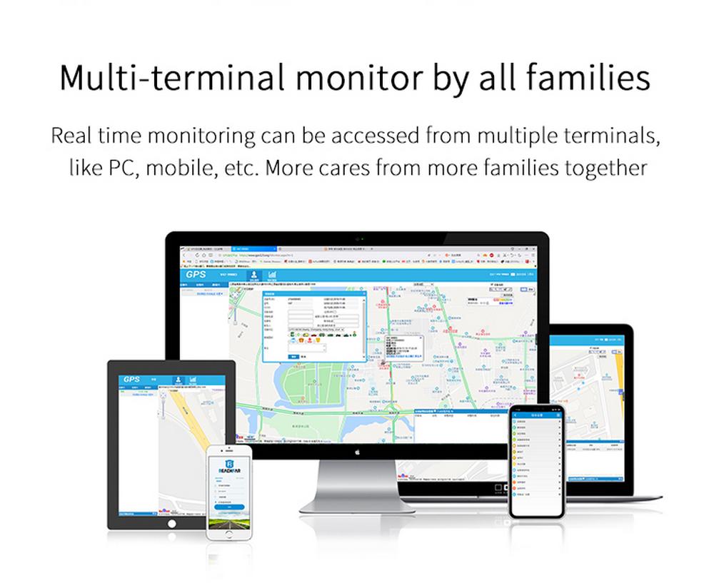 Enerna IoTech 4G GPS Pendant Wireless Control GPS Tracker
