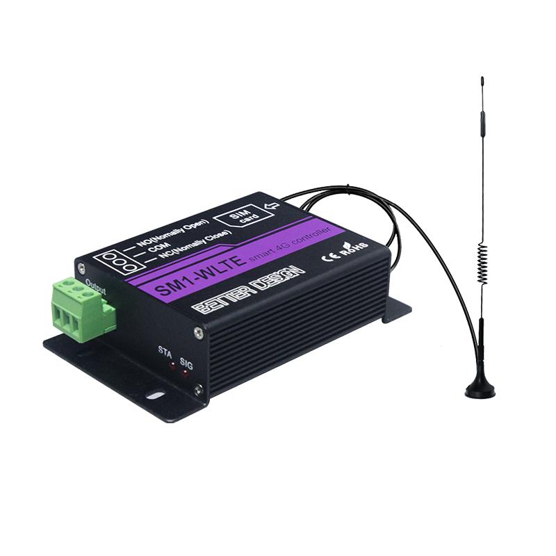 Enerna IoTech 4G Remote Pump Motor Door Lock Power Switch Controller