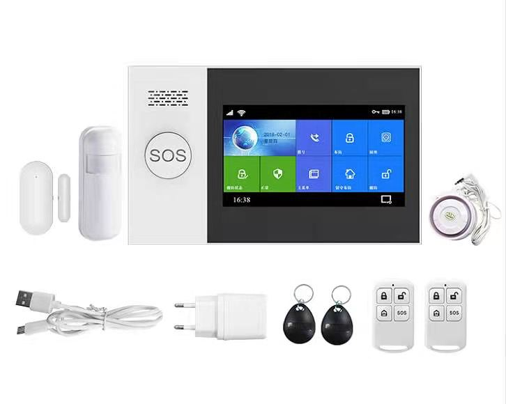 Enerna IoTech WiFi GSM 4G Tuya Home Security Alarm System