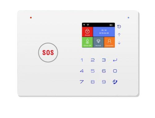 WiFi GSM emergency SOS wireless smart house intrusion alarm